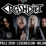 Crashdiet: a Milano per un'unica data
