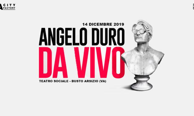 Angelo Duro: da vivo tour 2020
