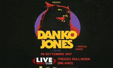 DANKO JONES: torna dal vivo in Italia il prossimo settembre!